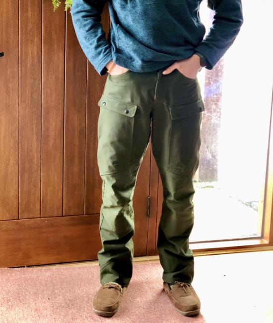 Hiking Pants with Design seams