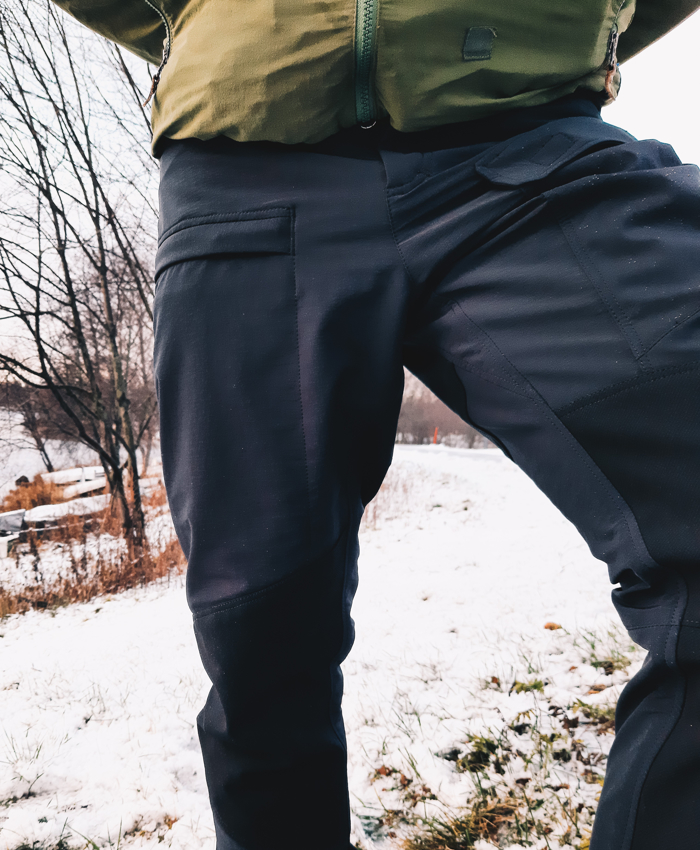 Stretch Hiking pants-images