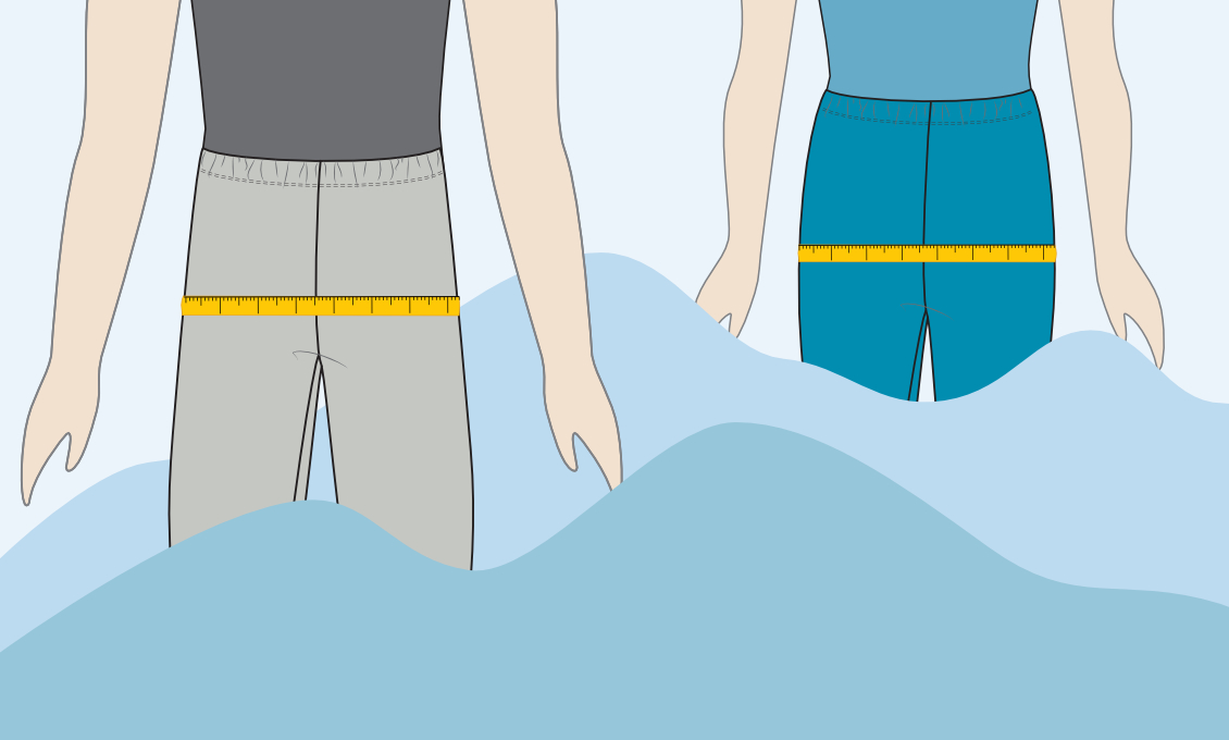Step-by-Step Measure hip