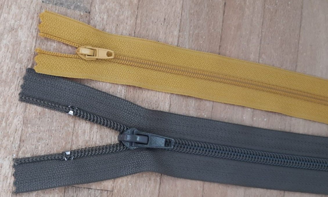 Coil Zippers