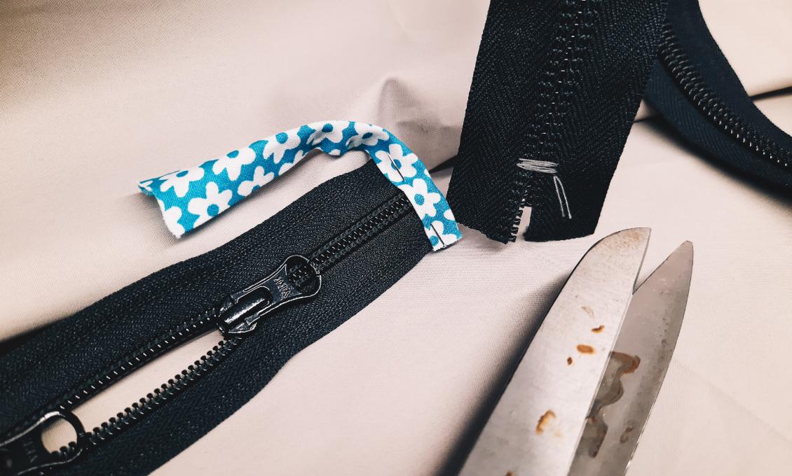 Zipper - Bottom-end shortening