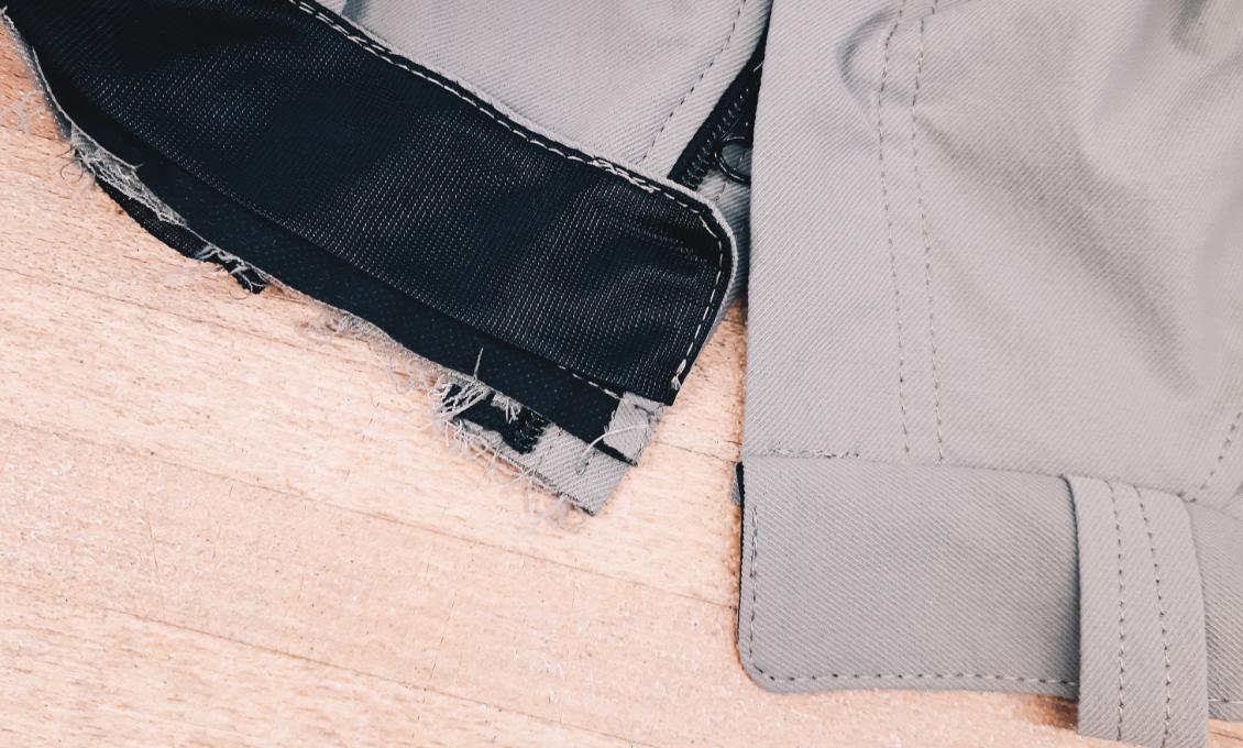 Zipper - Top-end shortening